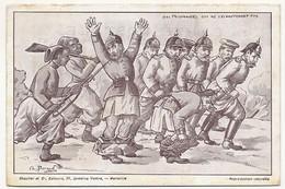 """CPA - """"Des Prisonniers Qui Ne S'échapperont Pas"""" - Illustrateur Ch. Beraud - Editions Chaulier Marseille - War 1914-18"""