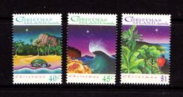 CHRISTMAS  ISLAND   1993    Christmas    Set  Of  3    MNH - Christmas Island