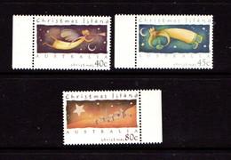 CHRISTMAS  ISLAND   1994    Christmas    Set  Of  3    MNH - Christmas Island