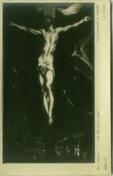 EL GRECO - LE CHRIST EN CROIX  - PHOTO E. DRUET - RPPC POSTCARD 1910s (BG67) - Pittura & Quadri