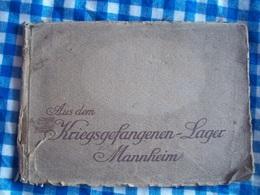 Album Photos Du Camp De Prisonniers De Mannheim En Allemagne 14-18 Ww1 - 1914-18