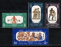 Egypte 1964 Yv 626/29**, Mi 766/69** MNH - Égypte