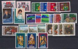 Liechtenstein 1982 Year (see Scan) ** Mnh (43995) - Liechtenstein