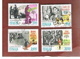 ITALIA REPUBBLICA  - UNIF. 1862.1865          -      1988    CINEMA ITALIANO   -      USATO - 6. 1946-.. República
