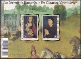 Belgique België 4066/67 Primitifs Flamands, Musées - Arts