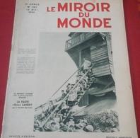 Le Miroir Du Monde N°167 Mai 1933 Christ Roi Les Houches,Von Papen,Armée Rouge URSS,Sahara Maroc Guerriers Maures - 1900 - 1949