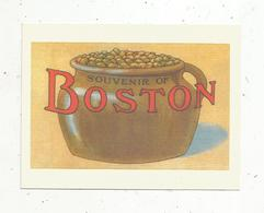 Autocollant , Sticker , Souvenir Of BOSTON - Autocollants