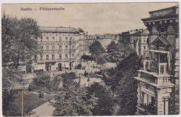 Stettin.Politzerstasse. - Pommern