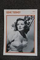 Artiste : GENE TIERNEY - Collezioni