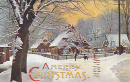 A Merry X-Mas - Hold-to.light  - 1908            (A-109-160812) - Hold To Light
