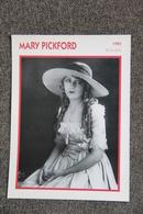 Artiste : MARY PICKFORD - Collezioni