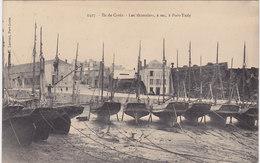 CPA 56 PORT TUDY Les Thonniers à Sec ILE DE GROIX Animée - Autres Communes