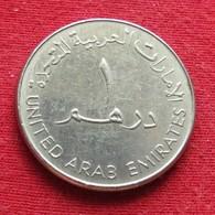 United Arab Emirates 1 Dirham 1998 KM# 6.2  UAE Emirados Emiratos Árabes - United Arab Emirates