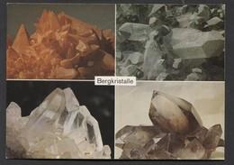 Calcit , Quarz Mit Chlorit , Bergkristalle, Rauchquarz. -  NOT  Used - See The 2 Scans For Condition.(Originalscan ) - Schweiz