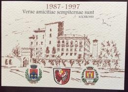 1997 PORCIA GEMELLAGGIO SPITTAL PORCIA PRIMO DECENNALE / Austria Carinzia - Vari