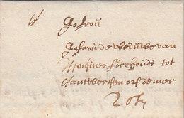 Belgique Belgium Spanish Netherlands Porto Entire 1684 (s61) - 1621-1713 (Países Bajos Españoles)