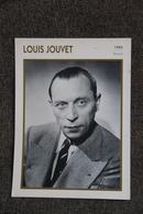 Artiste : LOUIS JOUVET - Collezioni