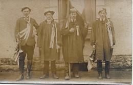 CHER 18  - LE CHATELET - CONSCRITS EN HABIT BERRICHON RARE CARTE PHOTO - Autres Communes