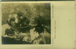 P. GAUGUIN - NATURE MORTE - FLEURS ET FRUITS - PHOTO E. DRUET - RPPC POSTCARD 1910s (BG80) - Peintures & Tableaux