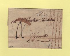 Turin - 104 - 1802 - Departement Conquis Du Po - 1792-1815: Conquered Departments