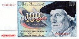 Reproduction Du Billet - 100 Deutsche Mark