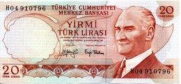 20 Lira 1970 Neuf - Turquie
