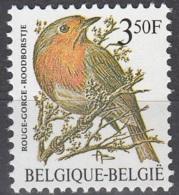 Belgique 1986 COB 2223 Neuf ** Cote (2016) 0.30 Euro Oiseau Rouge-gorge - Belgique