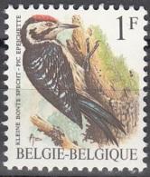 Belgique 1990 Michel 2401 Neuf ** Cote (2016) 1.25 Euro Oiseau Pic épeichette - Nuovi