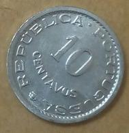 Sao Tome And Principe , 10 Centavos 1971. UNC ,  Km15a ، Agouz - Sao Tome Et Principe