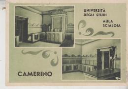 CAMERINO MACERATA UNIVERSITA' AULA SCIALOIA 1953 - Macerata