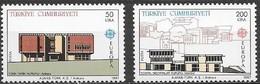 Turquie Turkije CEPT 1987  Yvertn° 2533-2534 *** MNH Cote 10,00 Euro Europa - 1921-... République