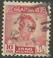 Iraq - 1950 King FaisaI II  16f  Used   SG 284  Sc 136 - Iraq