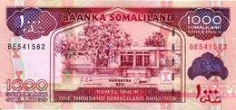 1000 Schilings 2011 Somalilan - Billets