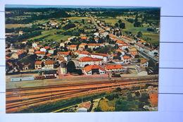 SAINT-YZAN-de-SOUDIAC-vue Generale Aerienne-train Sur Voie Ferree - Andere Gemeenten