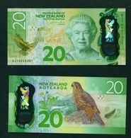 NEW ZEALAND  -  2016  20 Dollars  UNC - New Zealand