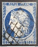 1849-1850, Céres, 25c, Déesse De L'Agriculture, Republique Française, France - 1849-1850 Ceres