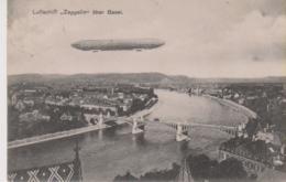 Luftschiff Zeppelin über Basel - Dirigeables