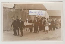 Suisse VUISTERNENS En OGOZ Carte Photo Obsèques De Monsieur L'Abbé Bise ....le 6 Février 1933 (carte 1) - FR Fribourg