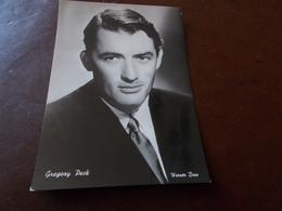 B713  Gregory Peck Non Viaggiata - Actores