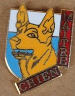 BERGER ALLEMAND - CHIEN - DOG - HUND - MAÎTRE CHIEN -           (ROSE) - Animales