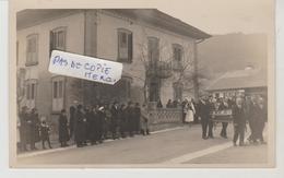 Suisse VUISTERNENS En OGOZ Carte Photo Obsèques De Monsieur L'Abbé Bise ....le 6 Février 1933 (carte 2) - FR Fribourg