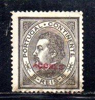 APR206 - AZZORRE ACORES 1882 , Yvert N. 48B  Usato  (2380A) . Dent 13 1/2 - Azoren