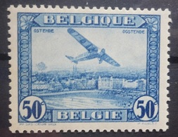 BELGIE  Luchtpost 1930  PA 1   Varieteit   V 1   Postfris **   CW  50,00 - Poste Aérienne