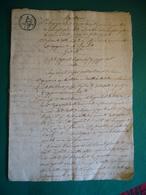 1804  ATTO NOTARILE MANOSCRITTO CON BOLLO REGNO D'ITALIA 75 CENT.  NAPOLEONE  SU 6 FOGLI O 12 PAGINE - Manoscritti