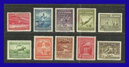 1939 - Ecuador - Sc. 377 - 371 + C 65 - C 69 - MNH - EC- 012 - 02 - Magnifica Serie Completa - Ecuador