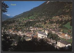 Fiesch 1050 M. Wallis - Weisshorn 4505.m.  -  NOT  Used - See The 2 Scans For Condition.(Originalscan ) - VS Wallis
