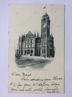 CANADA Hamilton Ont. - The City Hall - 1904 Sent To Scotland (postage Dues) - Hamilton