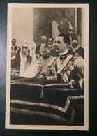 CARTOLINA - NOZZE UMBERTO II E MARIA JOSE - Matrimonio Tra Il Principe Umberto E La Principessa Maria José. 1930 - Italia