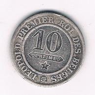 10 CENTIMES  1862  BELGIE /5813/ - 1831-1865: Léopold I