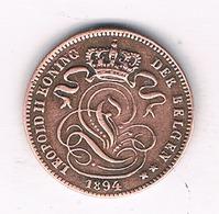 1 CENTIEM 1894 VL  BELGIE /5816/ - 01. 1 Centime